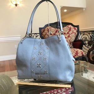 Michael Kors Brighton Bag in Pale Blue